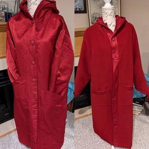 Vintage Reversible Linda Lundstrom Long Coat